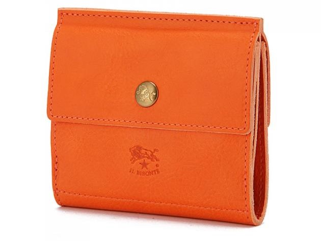 イルビゾンテの二つ折り財布 背面にコインケース