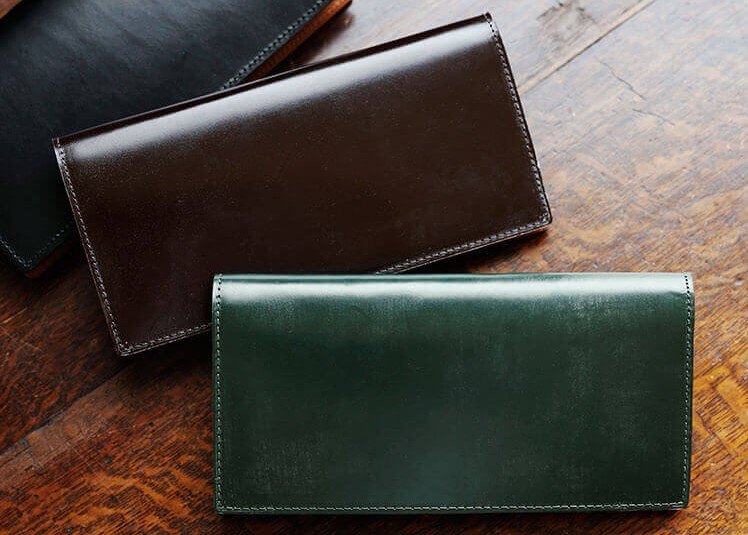 土屋鞄製作所のブライドル 長財布