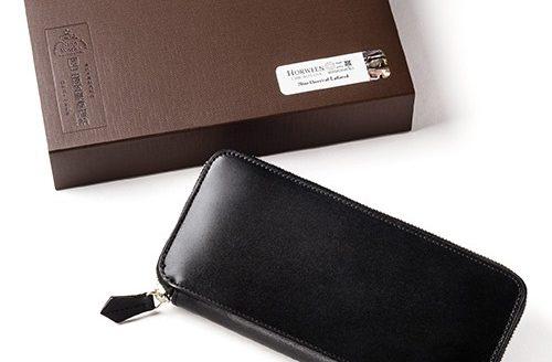 二宮五郎商店 ホーウィンシェルコードバン グランマスタージップアラウンドウォレット &化粧箱