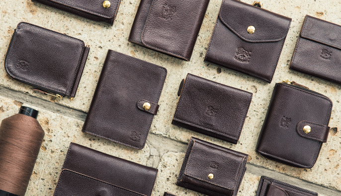 イルビゾンテの二つ折り財布
