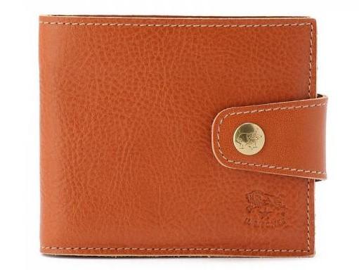 イルビゾンテの二つ折り財布 フラップ