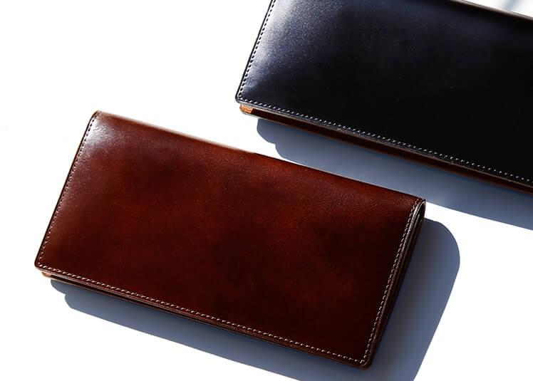 土屋鞄製作所のコードバン 長財布