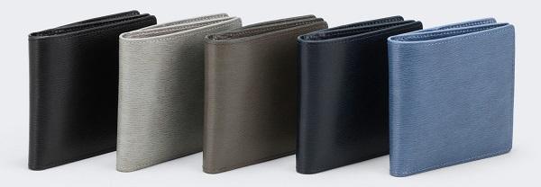 アニアリ 二つ折り財布(インヘリタンスレザー)5色