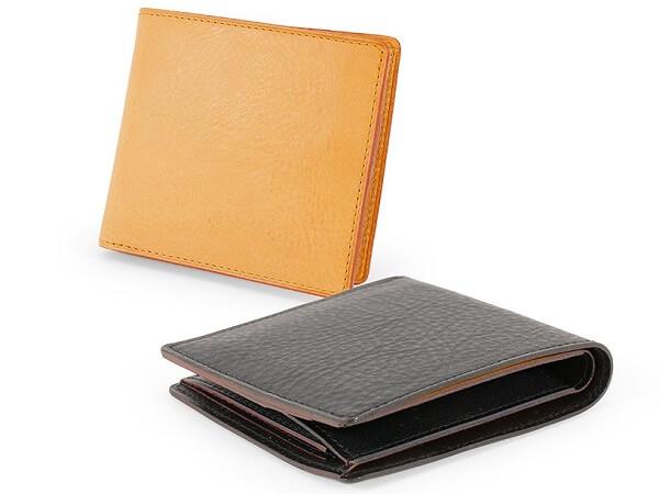 ミネルバナチュラル・小銭入れ付き二つ折り財布