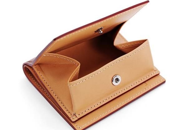 コードバン・BOX小銭入れ付きコンパクト札入れ 小銭入れ