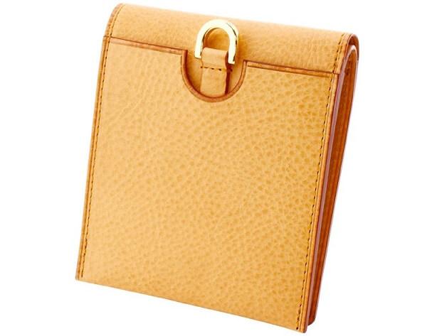 ミネルバナチュラル・コンパクト二つ折り財布 背面
