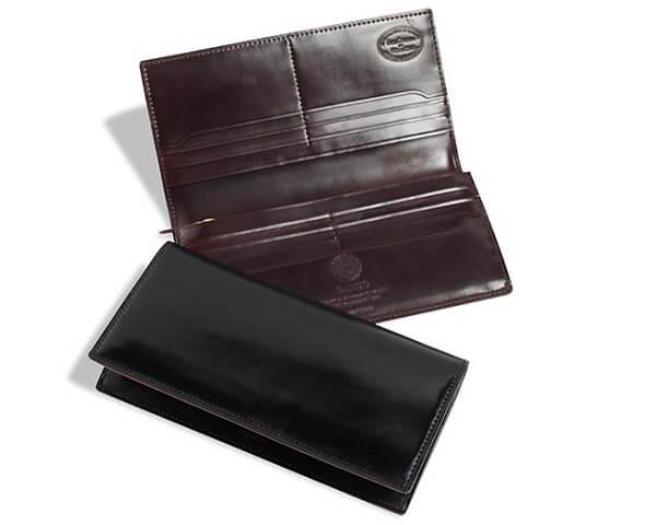 シェルコードバン2・ファスナー小銭入れ付き長財布