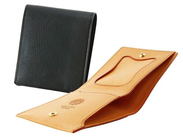 ミネルバナチュラル・コンパクト二つ折り財布