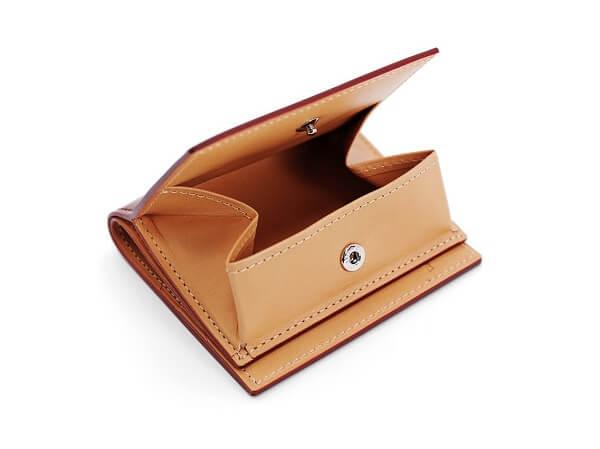 CORDOVAN (コードバン) BOX小銭入れ付きコンパクト札入れk