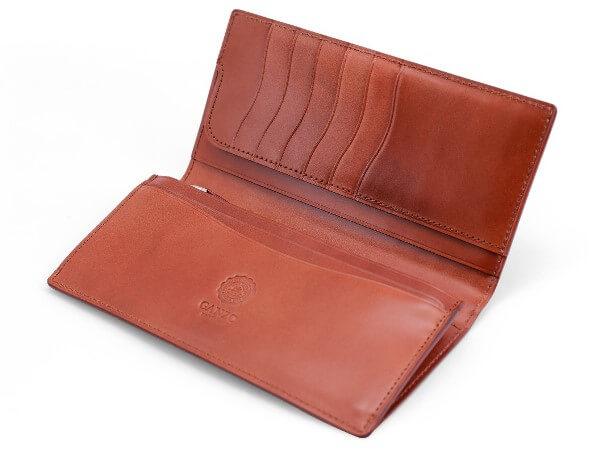 CORDOVAN LUCIDA (コードバンルチダ) ファスナー付きコンパクト長財布