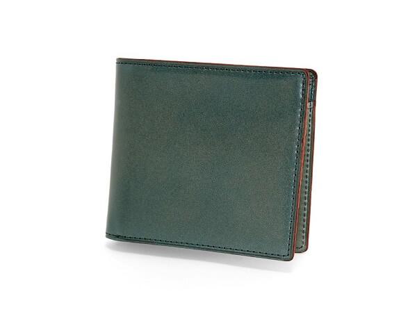CORDOVAN LUCIDA (コードバンルチダ) 小銭入れ付き二つ折り財布
