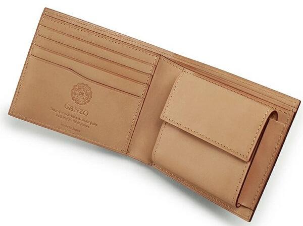 CORDOVAN (コードバン) 小銭入れ付き二つ折り財布u