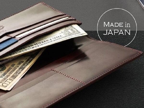 長財布(小銭入れ付き通しマチ束入)■ホーウィンシェルコードバンu