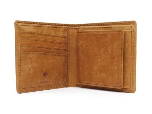 プエブロレザー二つ折り財布