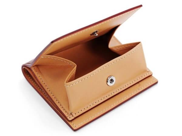 CORDOVAN (コードバン) BOX小銭入れ付きコンパクト札入れ