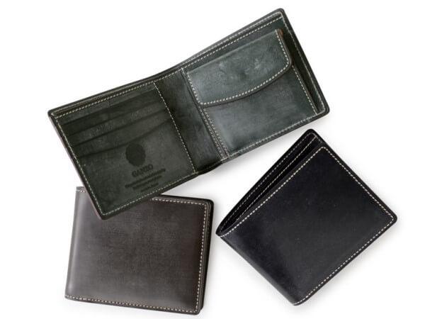 ブライドルカジュアル 小銭入れ付き二つ折り財布