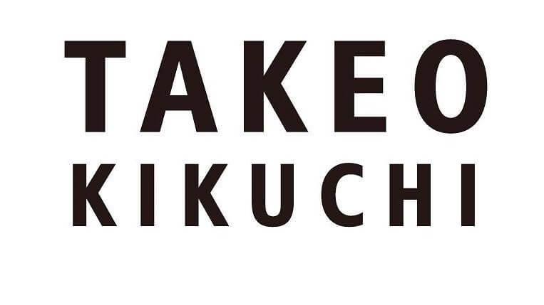 タケオキクチ ブランドロゴ