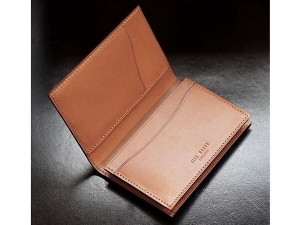 ファイブウッズ フランス製サドルレザー カードケース