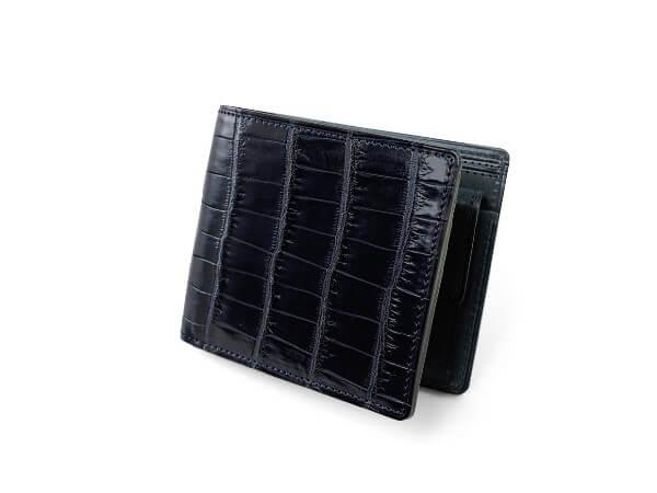 SMALL CROCO (スモールクロコ)小銭入れ付き二つ折り財布