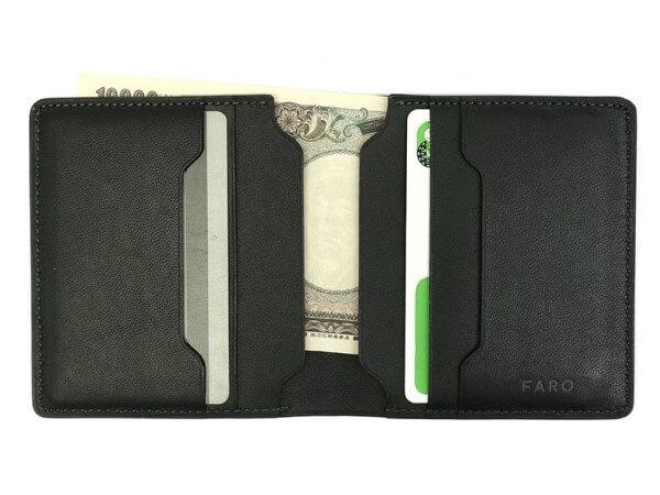 FARO(ファーロ)Short Bill Wallet 二つ折り財布小銭入れなし