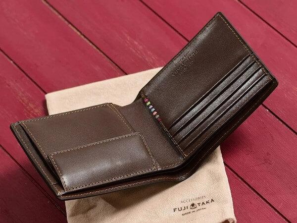 FUJITAKA(フジタカ)デュプイボックスカーフ 二つ折り財布