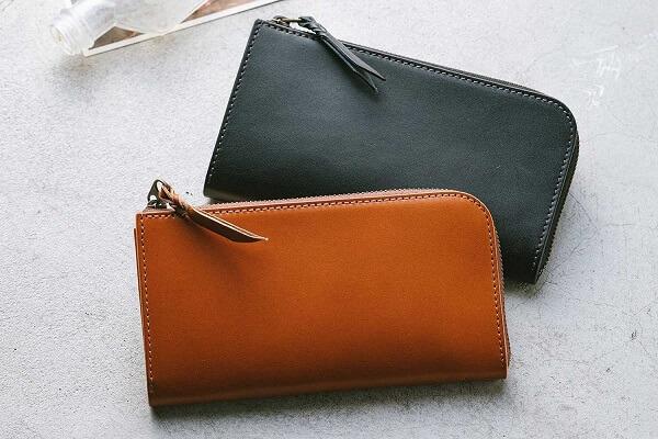 SMITH カードが立つ 日本製 栃木レザー 長財布