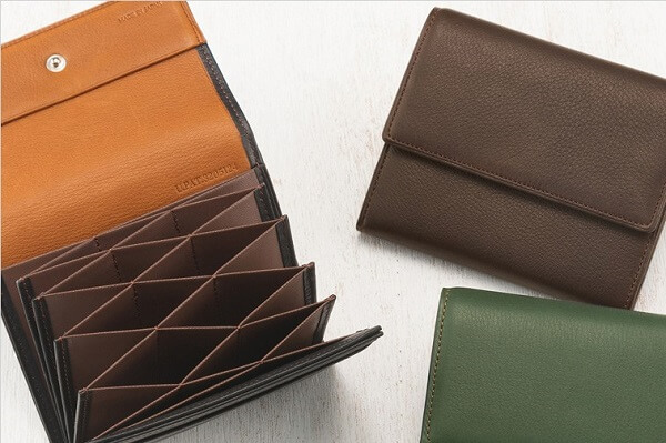コンパクトハニーセル財布|シルキーキップ