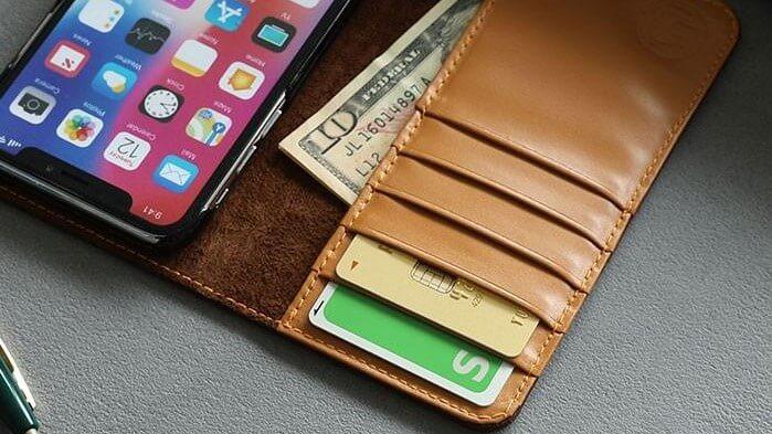 スマホケース カードポケット
